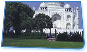 The Taj Gardens - Agra